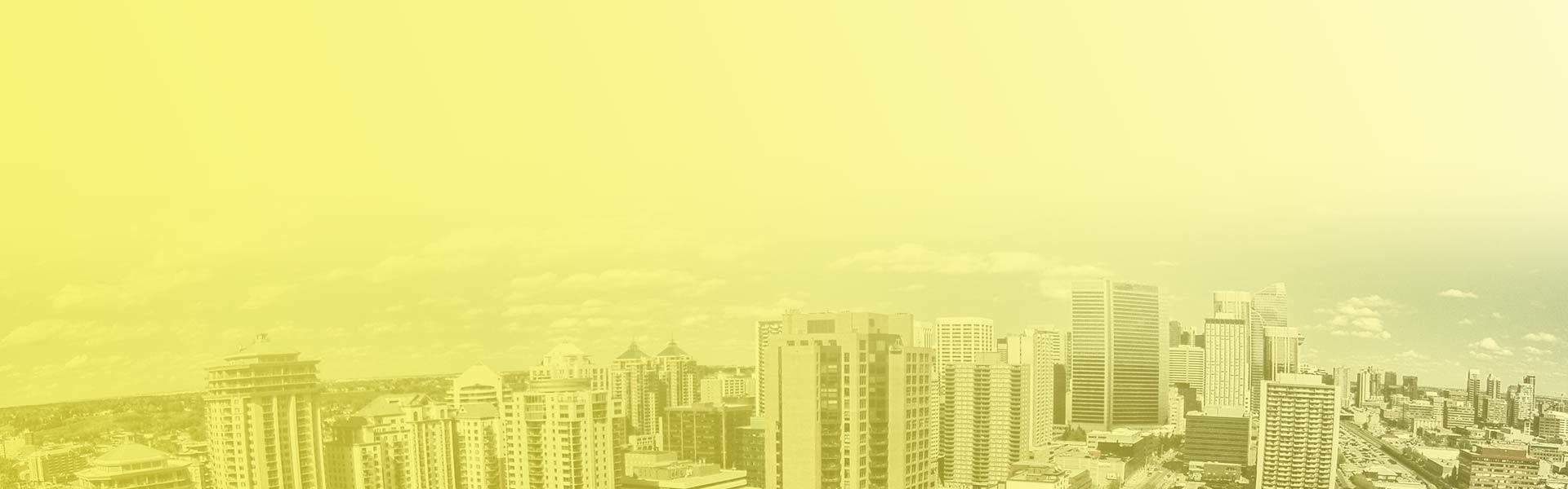 yellow skyline branded