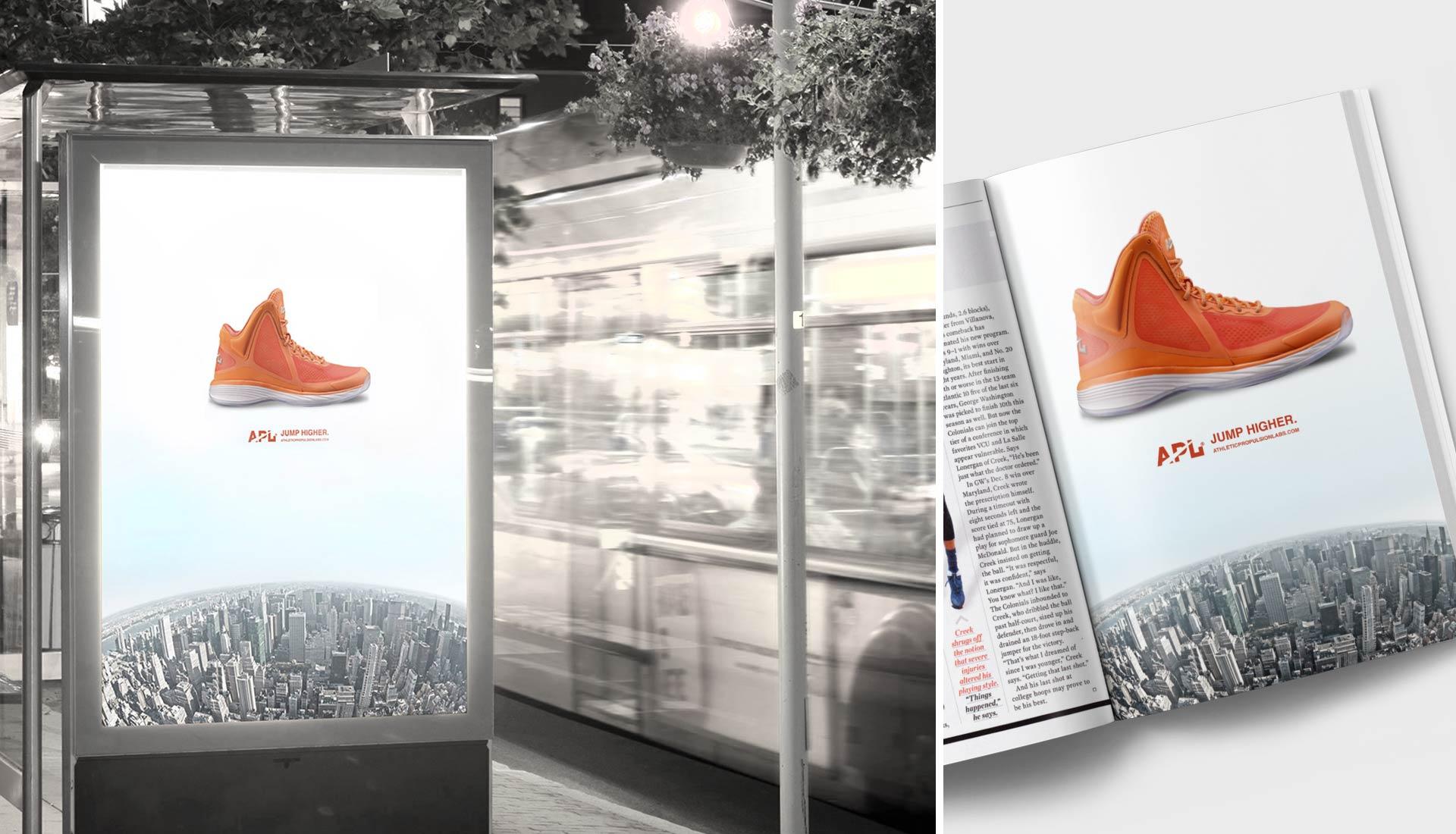 editorial outdoor print advertising