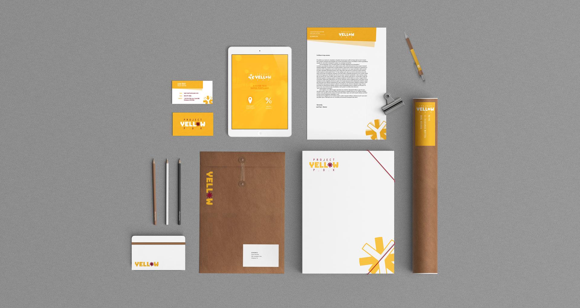 stationary letterhead business card poster-tube note-book kraft paper